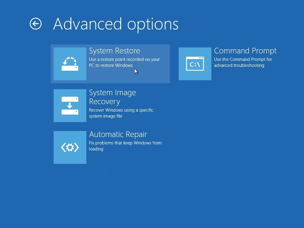 Windows 8 recovery guide recover when windows 8 fails to for Window recovery