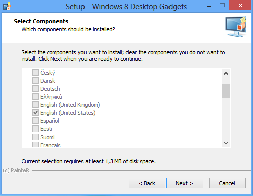 Desktop Gadgets 2