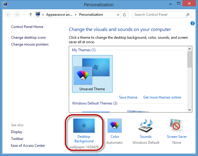 Change Desktop Background Windows 8 Automatically 2