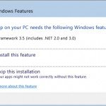 Install .NET Framework 3.5, 3.0 or 2.0 in Windows 8