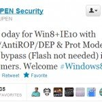 First Security Bug Found in Windows 8 is Up for Sale