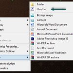 How to Create Shutdown Button in Windows 8